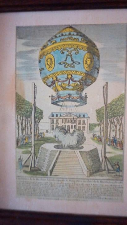 Weltbild France Eichenrahmen Vintage