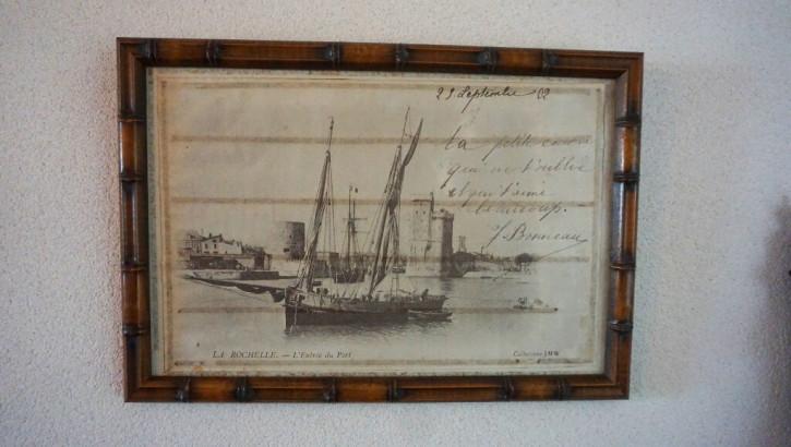 Antiker Rahmen La Rochelle Vintage