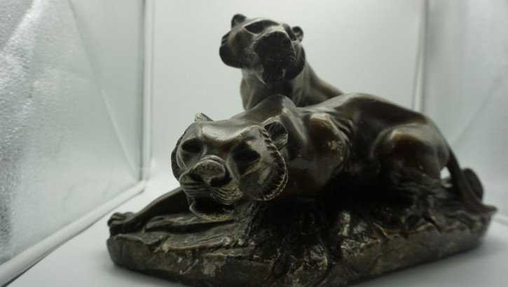 Antike Panther Figur Frankreich Art Deco
