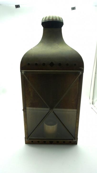 Ecklampe Messing vintage Frankreich  Laterne Ecke