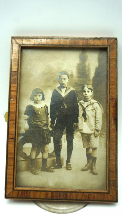 kleiner Antiker Holzrahmen Frankreich