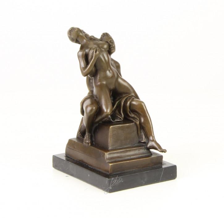"""""""Erotische Paarszene"""" Bronze Statuette"""