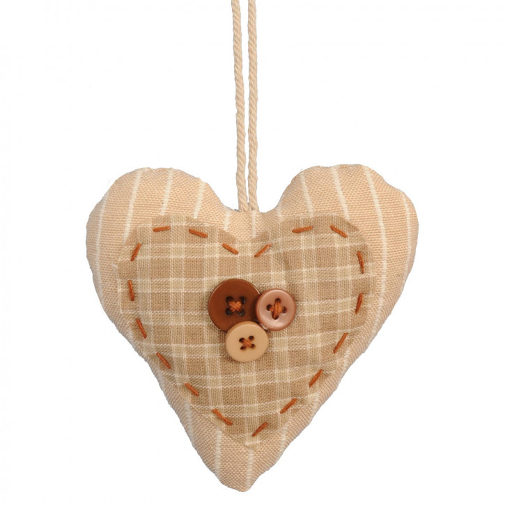 Heart hanging 10 cm