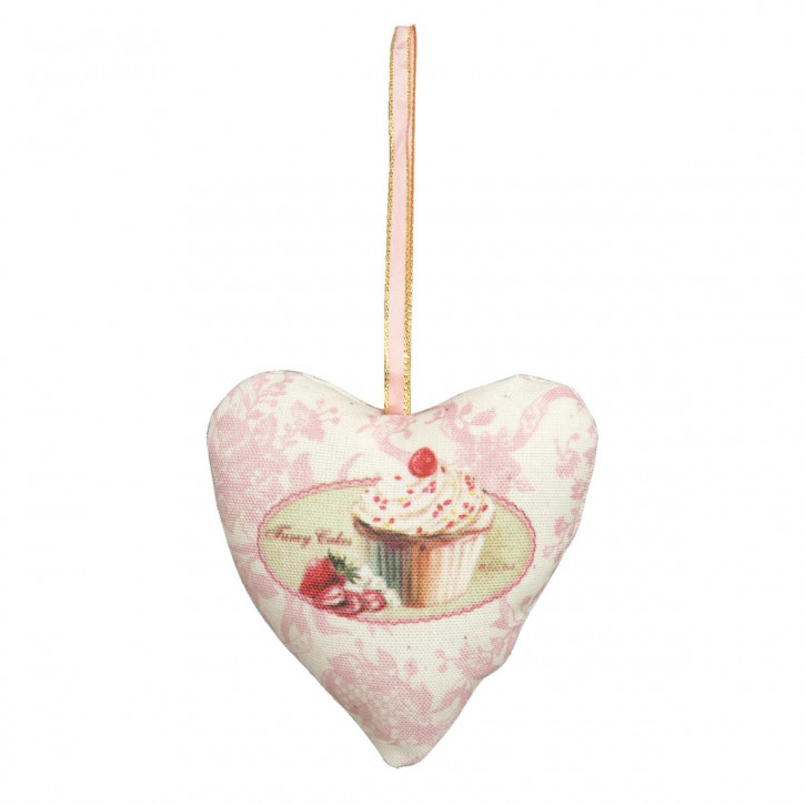 Heart hanging 9 cm