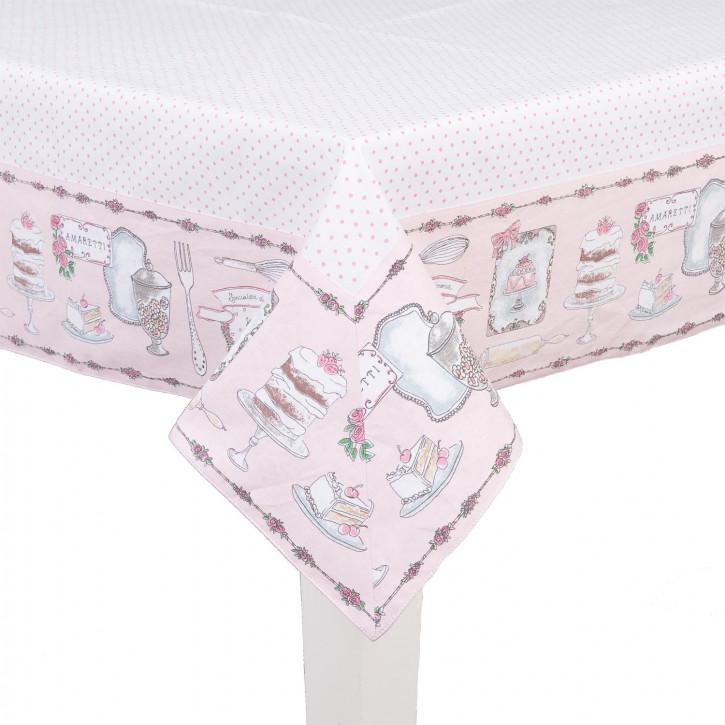Tischdecke Törtchen 130*180cm