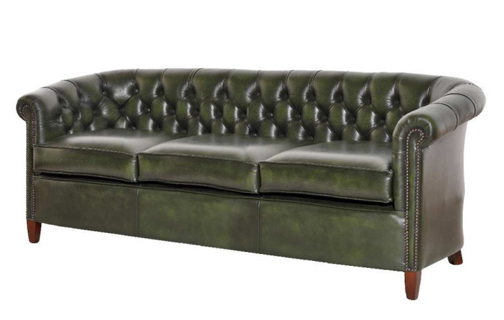 Chesterfield Clubsofa Diana 3-Sitzer