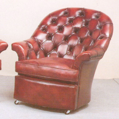 """""""Donington High Back Chair"""" Chesterfield Sessel"""