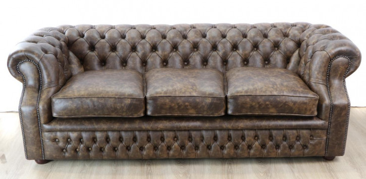 "Chesterfield Sofa ""Dover"" 3-Sitzer"
