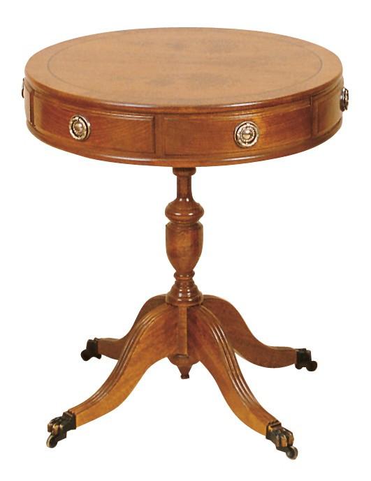 """""""Drum Table 2 Drawer"""" runder Beistelltisch mit Schubladen"""