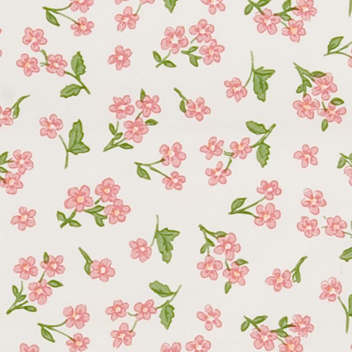 Schöne PVC Tischdecke mit Blumenmuster