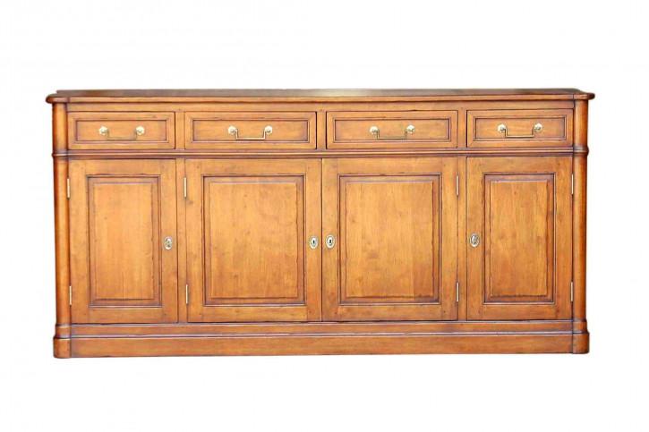 Sideboard  4 door 4 drawers   Louis XVI  natürlich gewachst