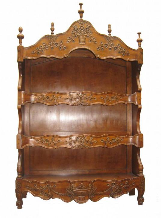 Regal im antiken Landhaus-Stil aus Holz - 3 Regalböden