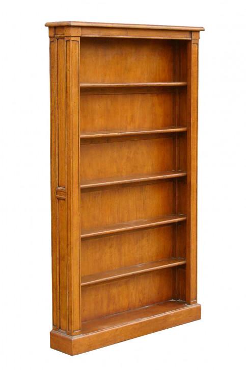 Bibliotheksregal im Landhaus-Stil aus Holz - 5 Regalböden - 100 x 170