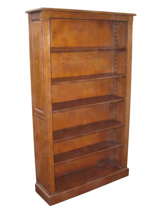 Regal im Landhaus-Stil aus Holz - 5 Regalböden - 100 x 170