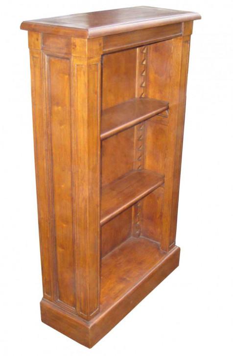 Regal im Landhaus-Stil aus Holz - 2 Einlegeböden - 60 x 100