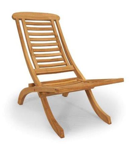 Gartenstuhl Lazy Chair aus Teakholz