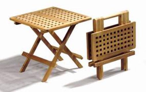 Klapptisch Cross Mini Table Eckig 50 x 50