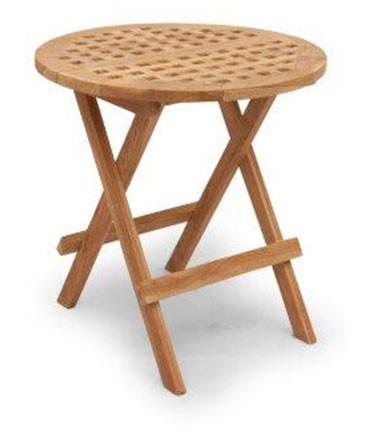Klapptisch Cross Mini Table 50 x 50