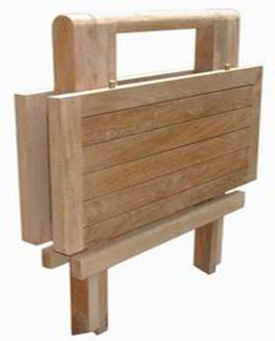 Klapptisch Picknick Mini Table Eckig 50 x 50