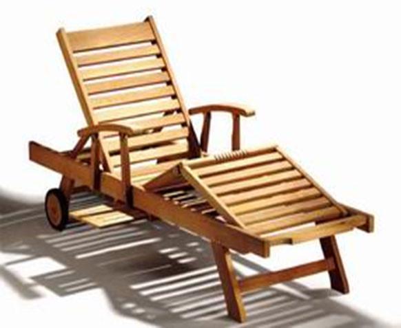 Sonnenliege Sun Lounger mit Armlehne