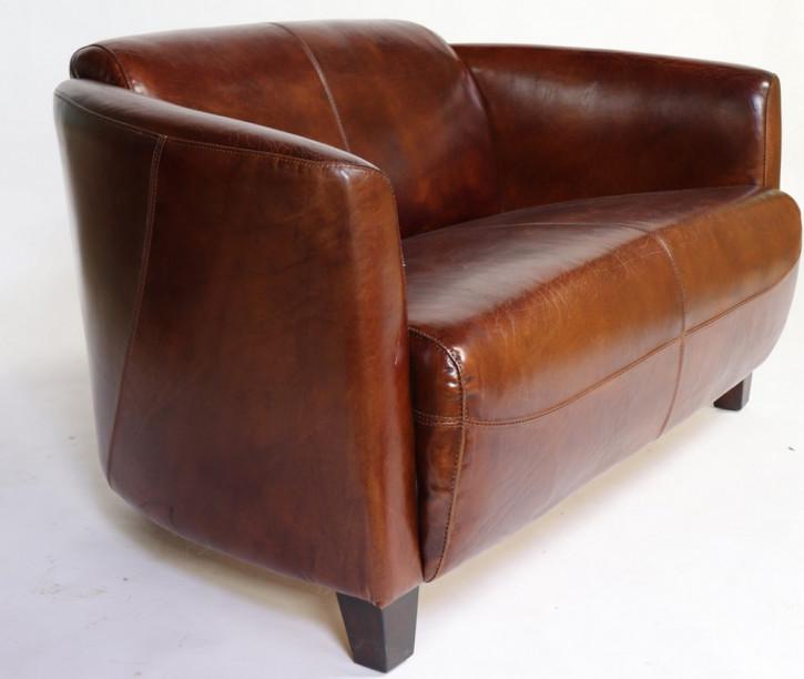 Clubsofa im Art Deco Stil 2-Sitzer