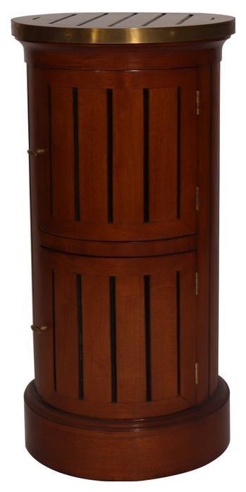 Klassischer französischer Retro Massivholz Nussbaum Schrank Sideboard