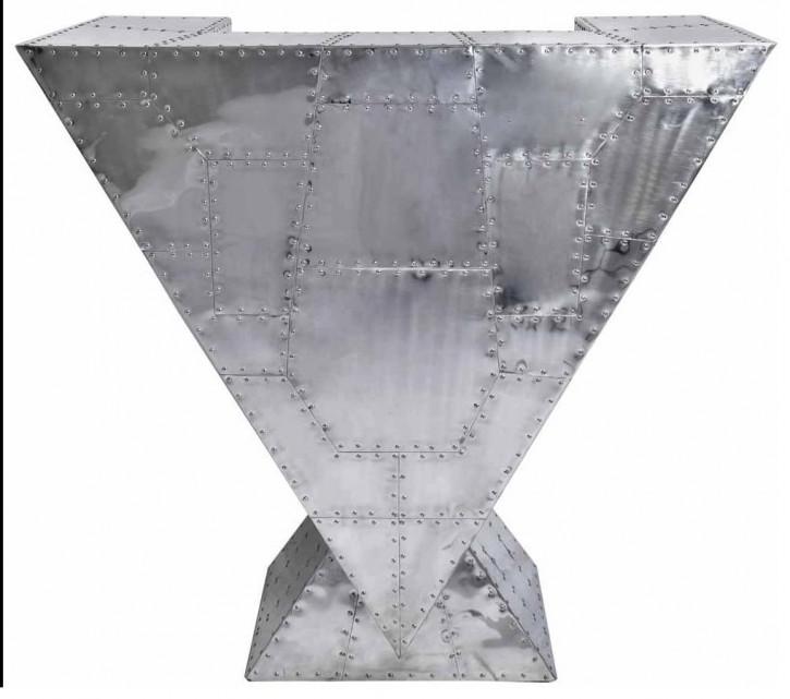 Aluminium Delta Regal Konsole Retro Massivholz klassisch französisch