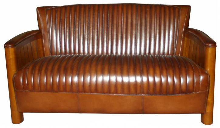 "Vintage Sofa ""Roscoff"" Maritime Collection"