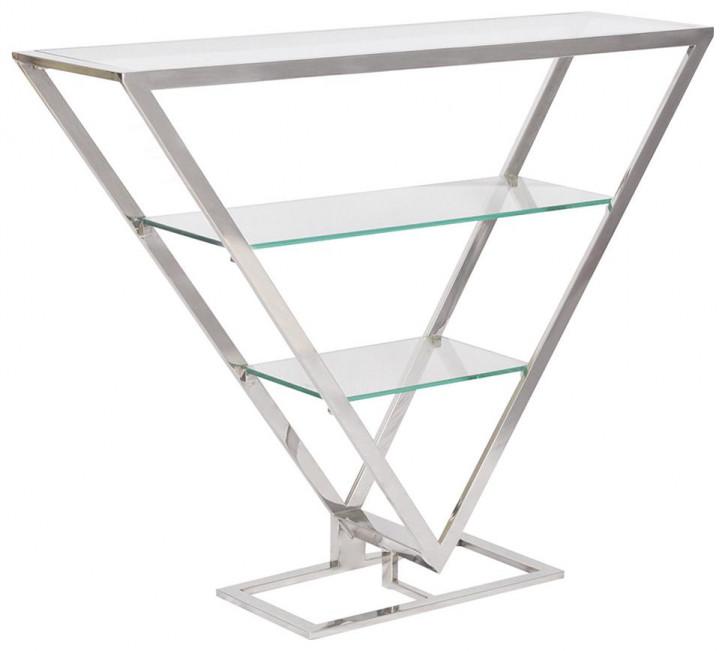 Delta Etagere Iso Inox Glas Stahl