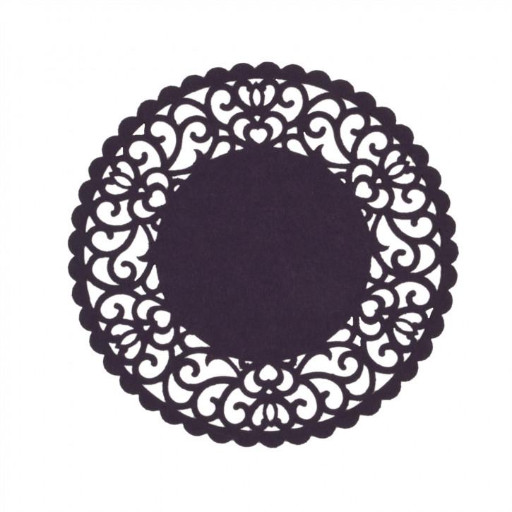 Tischset rund lila Ø25 cm