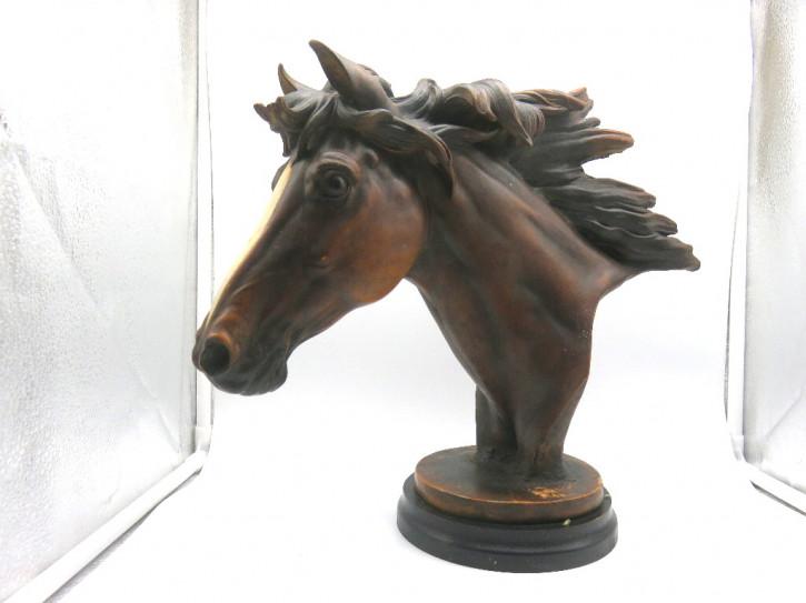 Pferdekopf  Holz  Antik aus Frankreich