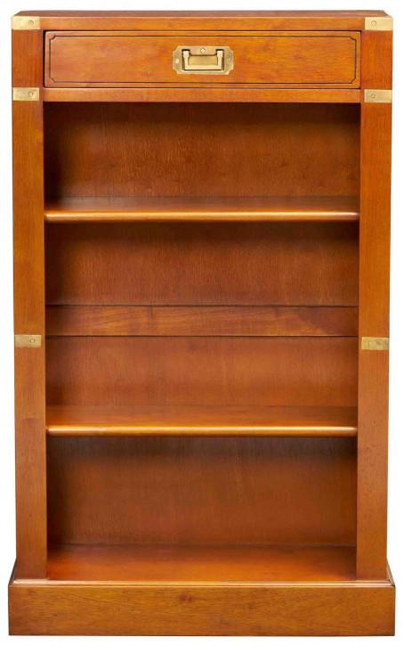 Regal im Marine-Stil aus Holz - 2 Regalböden, 1 Schublade