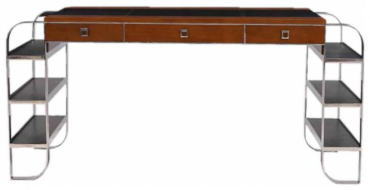 """""""Inox Version III"""" Schreibtisch Art Deco Style"""
