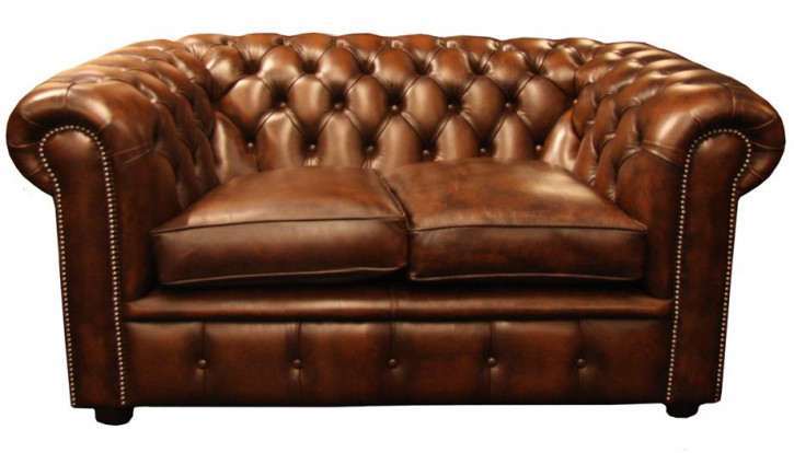 """Falmouth"" original Chesterfield 2-Sitzer"