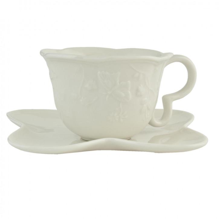 Kaffeetasse mit» Ø 15x7 cm / 0,12L
