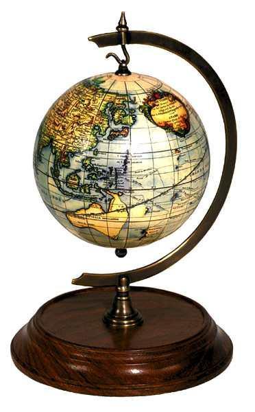 Ständer für Uhr - Desk Stand for Globe