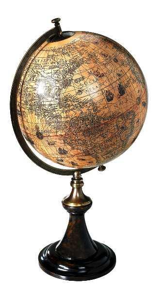 Globus - Hondius 1627