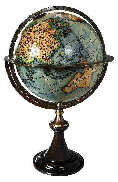 Globus - Globe Stand Paris 1745