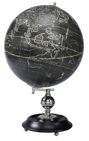 Globus - Vaugondy 1745 schwarz
