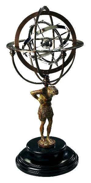 Globus - 18. Jahrhundert Atlas Armillary