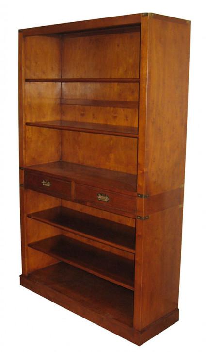 Bücherregal mit Schubladen im marine-Stil
