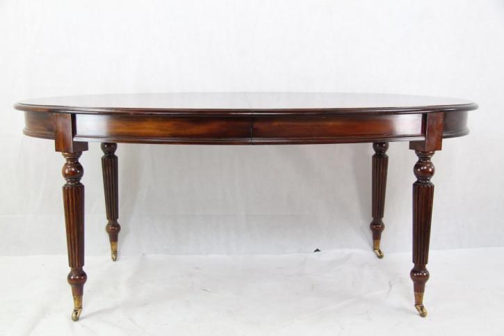 Ovaler Mahagoni Esstisch ausziehbar