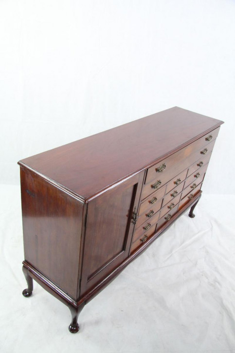 Sideboard Edwardian Original Mahagoni