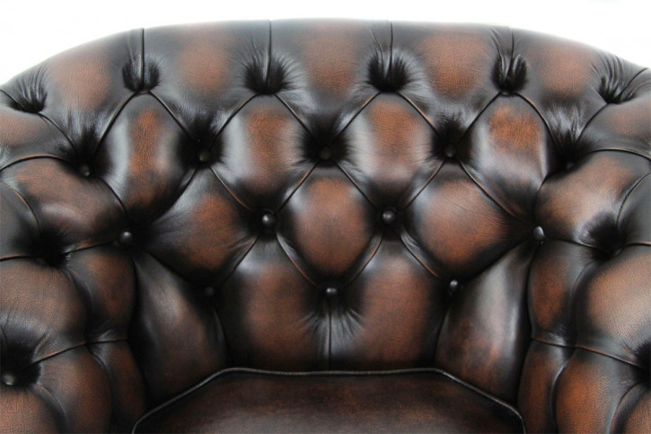"""London Classic"" Chesterfield Sessel"