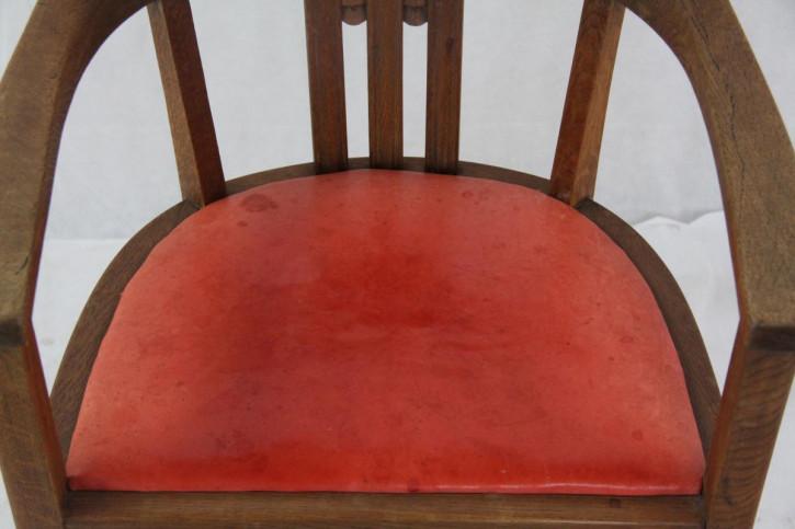 Art Déco Stuhl Clubchair Bürostuhl