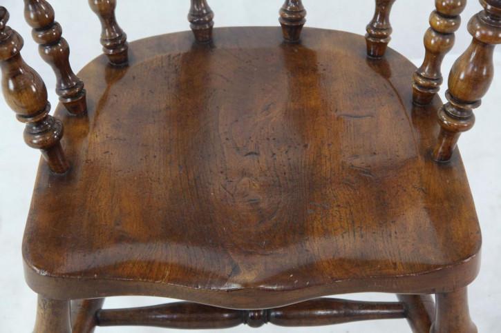 """Eiche Armlehnenstuhl Captain Chair """"Victorian"""" aus England"""