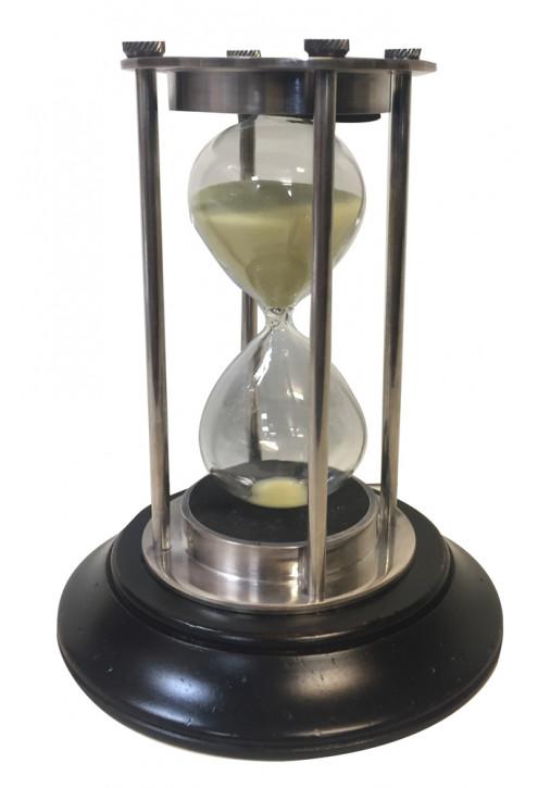Sanduhr Silber, 30 Minuten