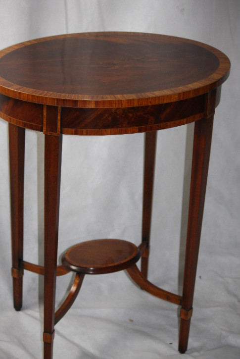 excelleter Mahagoni Table Tisch Edwardian 1890