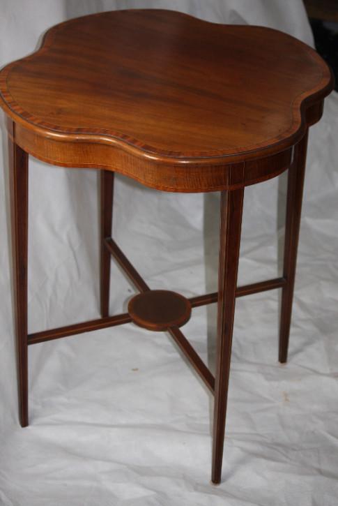 Edwardian Table  Mahagoni Tisch Edwardian 1890