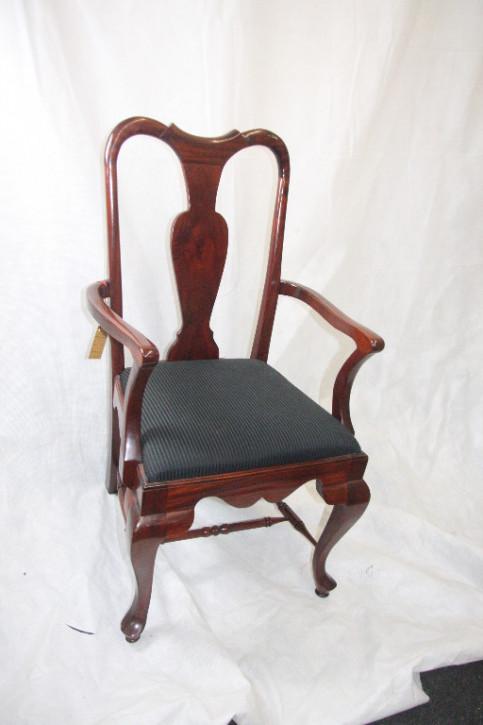 8er Satz Stühle Massives Mahagoni Georgean Style